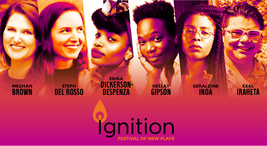Ignition 2019; Headshots of Meghan Brown, Steph Del Rosso, Erika Dickerson-Despenza, Keelay Gipson, Geraldine Inoa, and Exal Iraheta